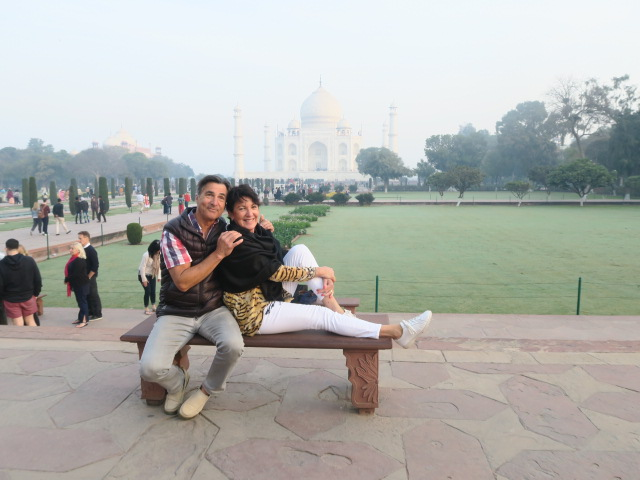 Agra, India - Alan and Glenda Halliwell