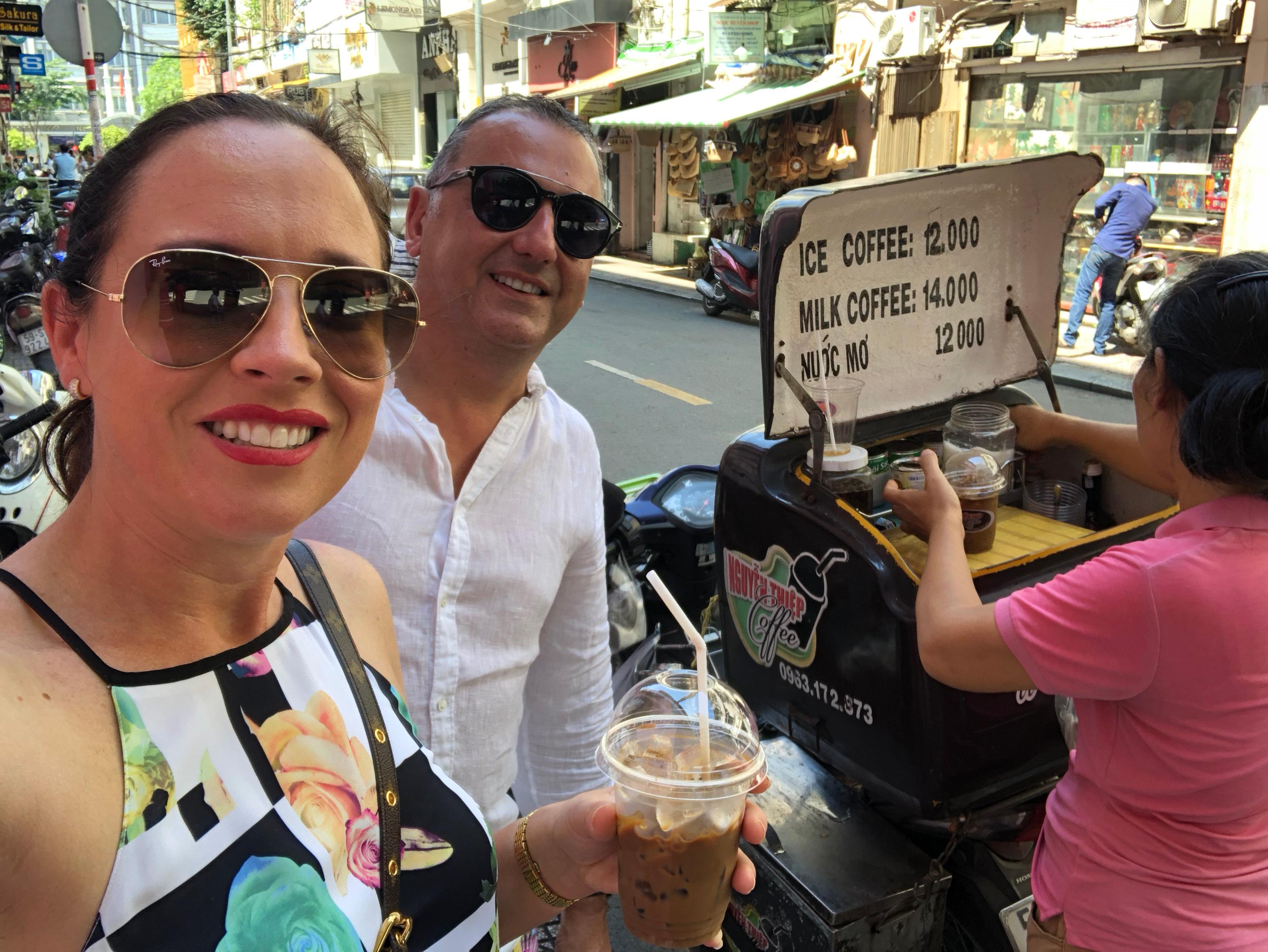 Sally Simmon Viking Cruises Vietnamese Coffee